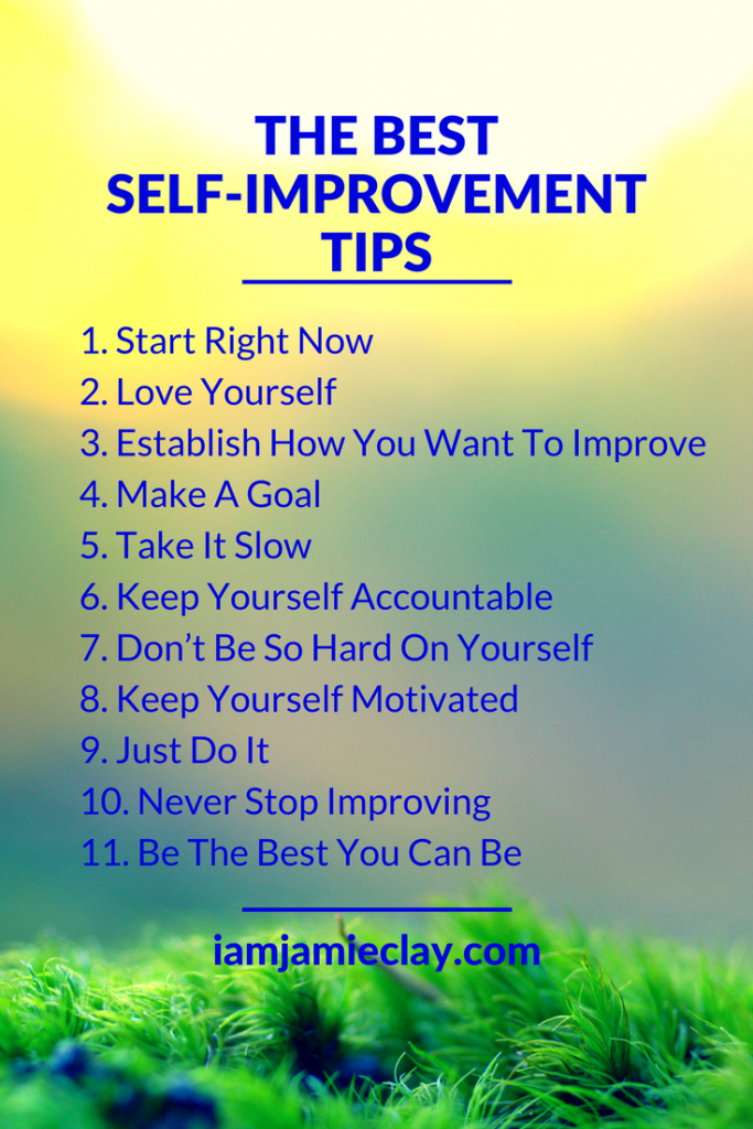 Quotes that will motivate you to improve yourself i am jamie clay the best self improvement tips ever solutioingenieria Gallery